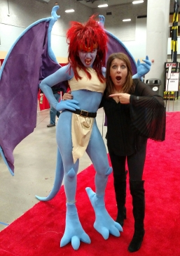 Demona and Marina Sirtis | Chelsea Scrolls