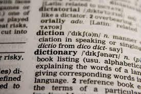 dictionary | Chelsea Scrolls