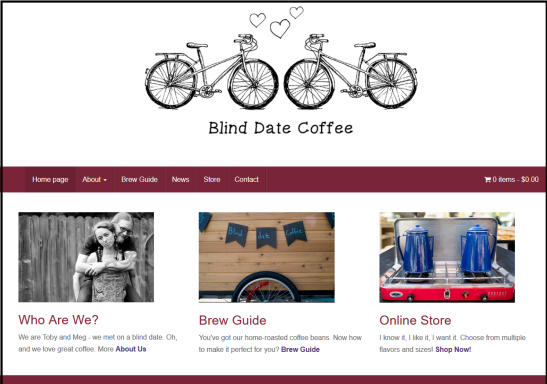 Blind date coffee | Chelsea Schuyler design