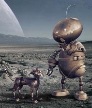 robot aliens | Chelsea Scrolls