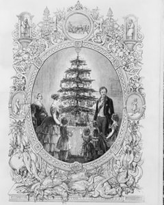 Illustrated London Times pic from 1848, Windsor Castle tree
