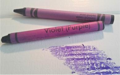violet crayon | Chelsea Scrolls