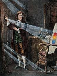 isaac newton and the prism
