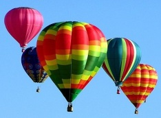 air balloons like plankton