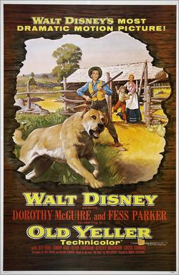 old yeller poster rabies