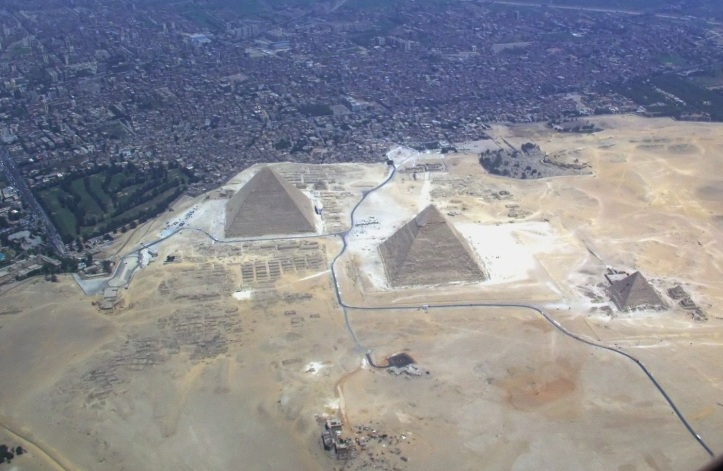 Cairo and Egyptian pyramids | Chelsea Scrolls