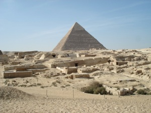 pyramid city Egypt | Chelsea Scrolls