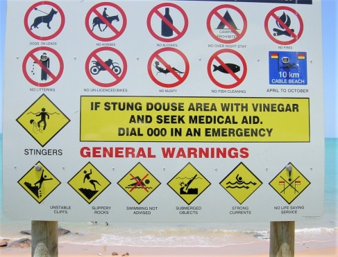 warning sign | chelsea scrolls blog