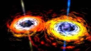 black hole collision | Chelsea Scrolls