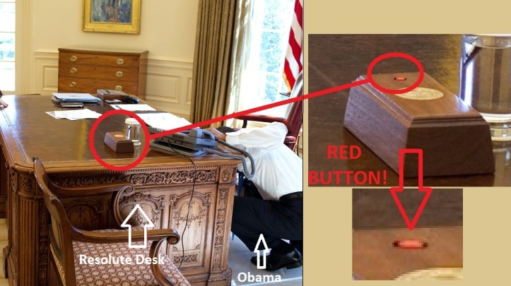 Resolute Desk red button