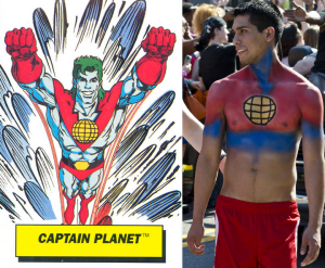 captain planet | Chelsea Scrolls