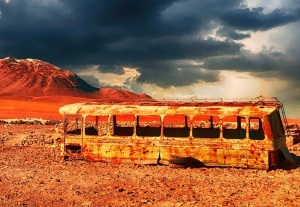 dead bus | Chelsea Scrolls
