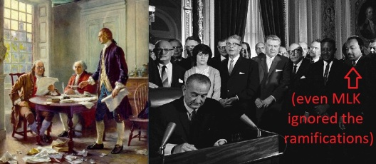 founding fathers and LBJ | Chelsea Scrolls