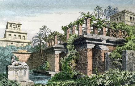 Babylonian Gardens | Chelsea Scrolls